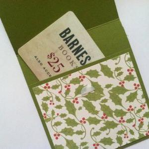 Christmas Gift Card Holder, Holly G..