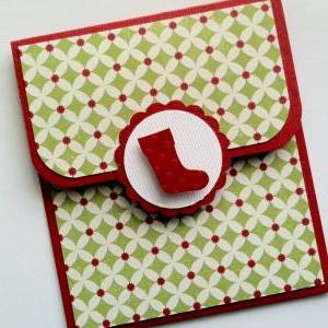 Holiday Gift Card Holder, Stocking ..