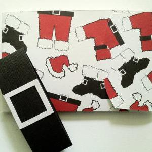 Santa Gift Card Holder, Christmas G..
