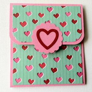 Gift Card Holder, Valentine's Day G..