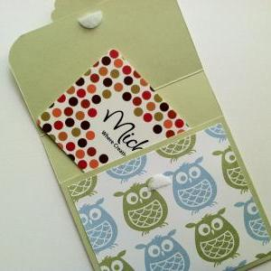 Owl Gift Card Holder, Baby Shower G..