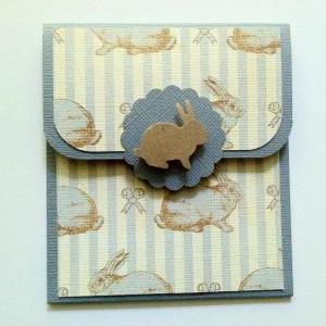 Rabbit Gift Card Holder, Baby Showe..