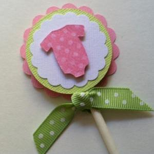 Cupcake Toppers, Baby Shower Cupcak..