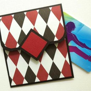 Argyle Gift Card Holder for Father's Day, Graduation or Birthday
